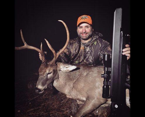 Benjamin Bulldog 357 Deer Hunting