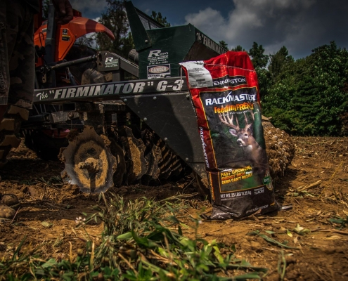 Fall Food Plot Planting